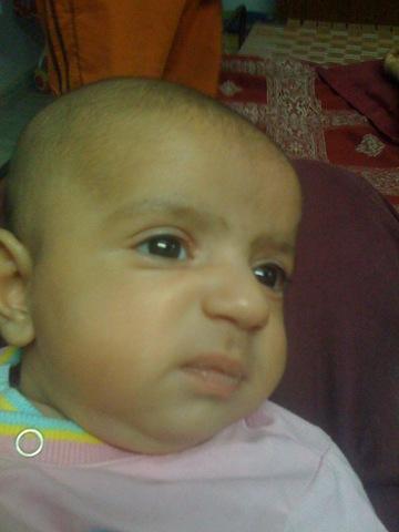 Uday Kamboj, 1 month old