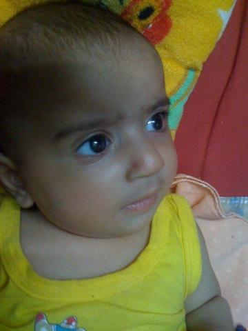 Uday Kamboj, 3 months old
